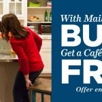 GE Cafe Free Dishwasher with Qualifying Package